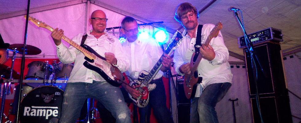 Rampe2 machmal auch mit Gastmusiker